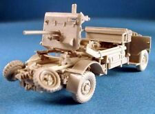"""Milicast UK066 1/76 Resin WWII Ford 30cwt 4x4 2pdr. Anti-Tank Portee on 134"""" SWB"""