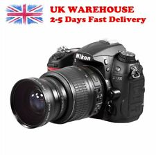 58mm 0.45x Super Wide Angle Macro Lens Pro for Canon Nikon Digital SLR Camera UK