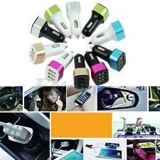 1PC Car Charger Adapter 3-USB Ports 5.1A For iPhone6 5S Samsung Note4 S5 HTC LG