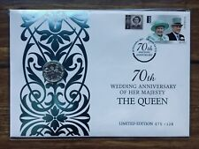 2017 Queen Elizabeth & Prince Phillip PNC - Ballot Only 120 Produced #75 / 120
