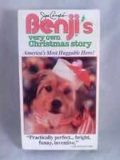 "BENJI (original 1973) & ""Benji`s Very own Christmas story"" (1977) VHS NEW sealed"
