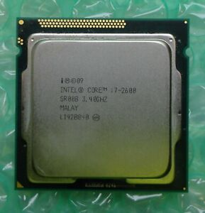 Intel i7 Quad Core Processor i7-2600 SR00B 3.40GHz 8M Socket 1155 Processor CPU