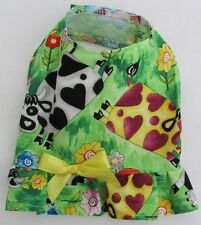 Farm Animals Cows Dog Puppy Ruffle Shirt Pet Clothes XS - Extra Small