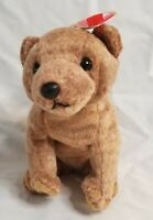 Ty Beanie Baby PECAN the almond brown bear 1999 new w/mint tag, stuffed animal