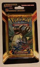 pokemon flashfire booster pack blister sealed