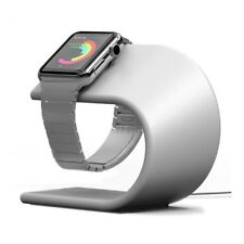 Pugo Top® Charging Stand for Apple Watch Series 1 or Series 2 (Silver)