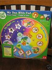 LEAPFROG MY DAY WITH TAD WOOD PUZZLE NEW!