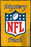 MCC NFL FOOTBALL MYSTERY PACKS! GUARANTEE 1 HIT PER PACK AUTOS RELICS RC  *READ*