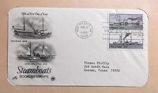 FDC Stamp Steamboats Phoenix New Orleans Mar 3 1989 #31