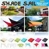 300D UV Block Rectangle Sun Shade Sail Waterproof Awning Outdoor Garden Canopy