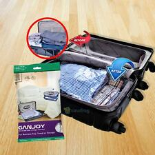 10X Space Saving Storage Vacuum Seal Compressed Organizer Package Travel Bag New