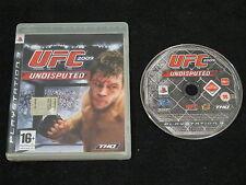 PS3 : UFC UNDISPUTED 2009 - ITA !