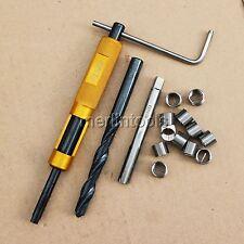 M10 x 1 Thread Repair Kit Tap and Drill bit Helicoil Insert Insertion tool