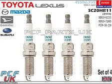 DENSO Iridium Spark Plugs TOYOTA MAZDA SUBARU DAIHATSU SC20HR11 90919-01253