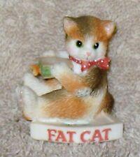 Calico Kittens Rare Mini Fat Cat