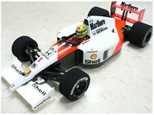 Unpainted 1/10 1991 F1 Mclaren MP4/6 RC body decal + parts for Tamiya F104w F103