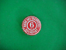 BEER Bottle Crown Cap~ ROCHEFORT 6 Authentic Trappist Belgian Brewery Since 1595
