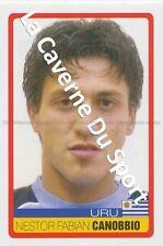 N°068 NESTOR CANOBBIO # URUGUAY STICKER PANINI COPA AMERICA VENEZUELA 2007