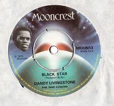 "Dandy Livingstone-Black Star 7"" simple 1973"
