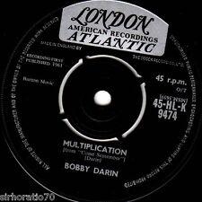 BOBBY DARIN Multiplication / Irresistible You 1961 U.K 45