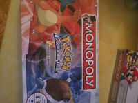 POKEMON MONOPOLY KANTO EDITION - FR - NEW/SEALED - BOARD GAME - USAOPOLY BNIB