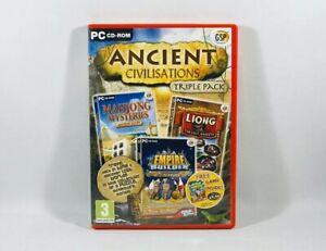 Ancient Civilisations: Triple Pack (PC CD-ROM, 2010)