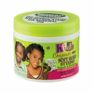 Africa's Best Organic Kids Soft Hold Styling Pomade & Hairdress 4oz / 114g
