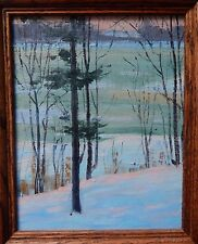 "Unknown Artist ""Winter Landscape, Rochester, NY"" c1935"