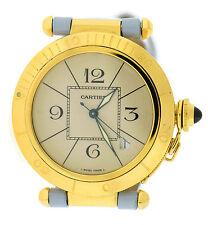 Cartier Pasha Automatic 18K Yellow Gold Watch 1987