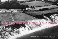 IO 273 - Camping Site, Whitecliff Bay, Bembridge, Isle Of Wight - 6x4 Photo