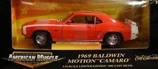 NOS ERTL 1969 Chevy RS SS Rosen BALDWIN MOTION Camaro '69 427 L-88 Hood !!