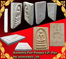 Rare!Phra Somdej Pae Panya LP Pae Wat Pikulthong Old Thai Amulet Buddha Antique