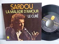 MICHEL SARDOU La maladie d amour 6061472 Lot de 2 disques Labels différents