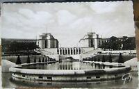 France Paris Le Palais de Chaillot vu des Jardins - unposted