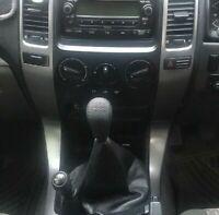 Gear Shift Knob for Toyota Tacoma Prado Solara Land Cruiser GRJ120 KDJ120 Black