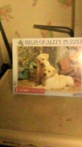 Clementoni ~  Dogs ~ 1500 Piece Jigsaw Puzzle - NEW & SEALED