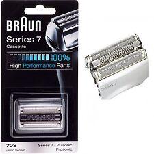 Braun 70S Foil Cutter Shaver Blade Cassette Series 7 Pulsonic 9000 790cc 9595