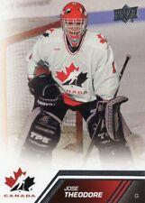 2013/14 Upper Deck Team Canada - #143 JOSE THEODORE [SP]