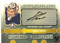 2012-13 Between The Pipes GoalieGraph Autograph Ondrej Pavelec Auto Vault #A-OP