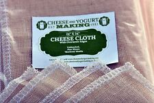 "Cheese Cloth - 24"" Oversewn For Cheese Making, +FREE recipe ebook +FREE SHIPPING"