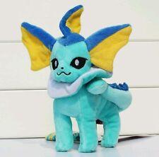 "Eevee 8"" VAPOREON Standing Pokémon Center Plush Stuffed Animal Pokemon Go USA"