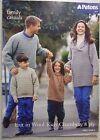 Patons knitting LEAFLET no. L 417 FAMILY JUMPERS 8 PLY CHAMBRAY WOOL