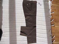 NWT Peter Millar Wicking Golf Pants Brown Size 33 x 31