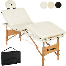Massageliege 4 Zonen Massagetisch Massagebank Therapieliege faltbar inkl. Tasche