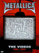 Metallica: The Videos 1989-2004 (DVD, 2014)