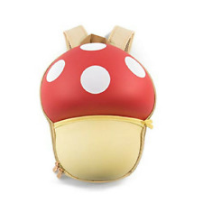 Preschool Small Funny Mushroom Backpack SuperCute Style for Boys Girls
