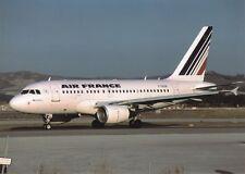 AIR FRANCE, AIRBUS a318-111, carte postale, UNGEL.