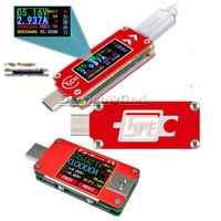 TC64 UT25 USB Type-C Full Color LCD Display Current Voltage Power Energy Tester