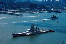 metal sign 795009 modern battleship uss wisconsin new york usa a4 12x8 aluminium