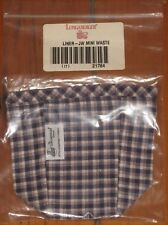 CC 1997 Longaberger Mini Miniature  Waste Fabric Basket Liner Nib New Usa